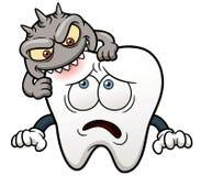 Cartoon tooth. Vector illustration of Cartoon tooth vector illustration