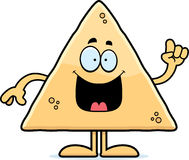 Cartoon Tortilla Chip Idea Royalty Free Stock Photo