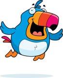 Cartoon Toucan Flying Royalty Free Stock Photos