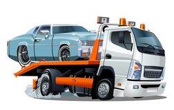Cartoon tow truck Stock Photos