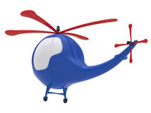 Cartoon toy helicopter. Stock Photography
