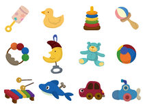Cartoon toy icon Stock Photo