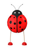 Cartoon toy Ladybird Royalty Free Stock Photos