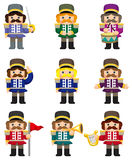 Cartoon Toy soldiers icon Royalty Free Stock Photo
