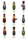 Cartoon Toy soldiers icon Royalty Free Stock Photography