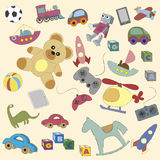 Cartoon toys for childen Royalty Free Stock Photo