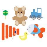 Cartoon toys Stock Photography