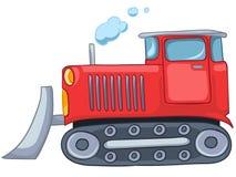 Cartoon Tractor Royalty Free Stock Photos
