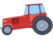 Cartoon Tractor Stock Image
