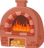 Cartoon traditional oven Stock Photo