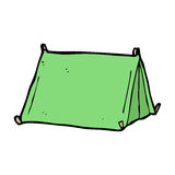 cartoon traditional tent Stock Image