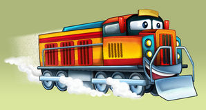 Cartoon train Royalty Free Stock Photos