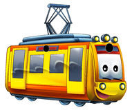Cartoon train. Beautiful illustration for the children Royalty Free Stock Photo