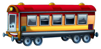 Cartoon train. Beautiful illustration for the children Royalty Free Stock Photography