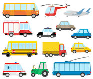 Cartoon transport Royalty Free Stock Photo