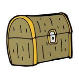 cartoon treasure chest Stock Photography