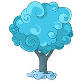 Cartoon Tree Stock Image