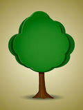 Cartoon tree Royalty Free Stock Photography