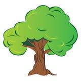 Cartoon tree royalty free illustration