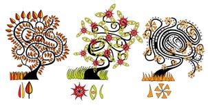 Cartoon_tree Stock Images