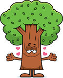 Cartoon Tree Hug Stock Photos