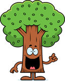 Cartoon Tree Idea Royalty Free Stock Photo