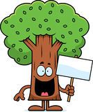 Cartoon Tree Sign Stock Photos