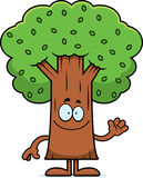 Cartoon Tree Waving Royalty Free Stock Image
