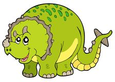Cartoon triceratops Royalty Free Stock Photo