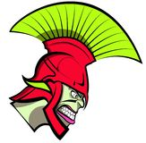 Cartoon Trojan or Spartan Vector Stock Photography