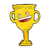 Cartoon trophy Royalty Free Stock Photography