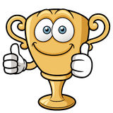 Cartoon Trophy. Vector illustration of cartoon Trophy Royalty Free Stock Image