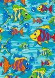 Cartoon Tropical Fish Stock Photos