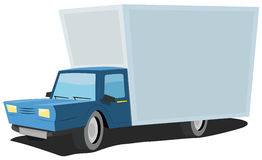 Cartoon Truck Royalty Free Stock Photo