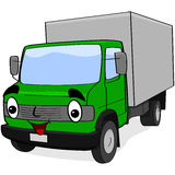 Cartoon Truck Royalty Free Stock Images
