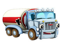 Cartoon truck. Beautiful illustration for the children Stock Photography