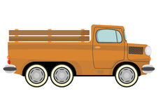 Cartoon truck Stock Images