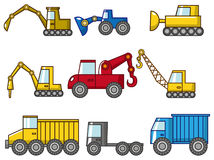 Cartoon truck icon Stock Image