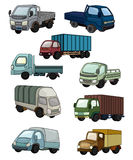 Cartoon truck icon. Drawing Stock Photography