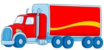 Cartoon truck. Illustration of a cartoon truck Royalty Free Stock Photography