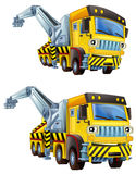 Cartoon truck -  two versions Stock Photo