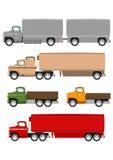 Cartoon truck Stock Image