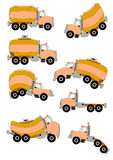 Cartoon Trucks Stock Photography
