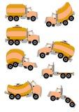 cartoon trucks Στοκ Φωτογραφία