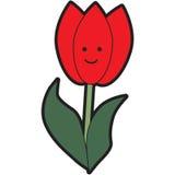 Cartoon Tulip Royalty Free Stock Images