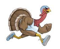 Free Cartoon Turkey Runner Character Royalty Free Stock Photography - 184618017