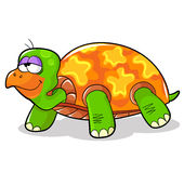 Cartoon turtle Stock Photo