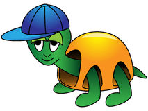 Cartoon Turtle Royalty Free Stock Photos