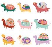Cartoon turtle icon Royalty Free Stock Image
