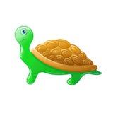 Cartoon turtle. Vector animal. Royalty Free Stock Photos